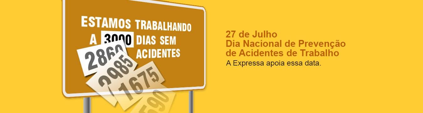 Dia de Prevenção de Acidentes de Trabalho